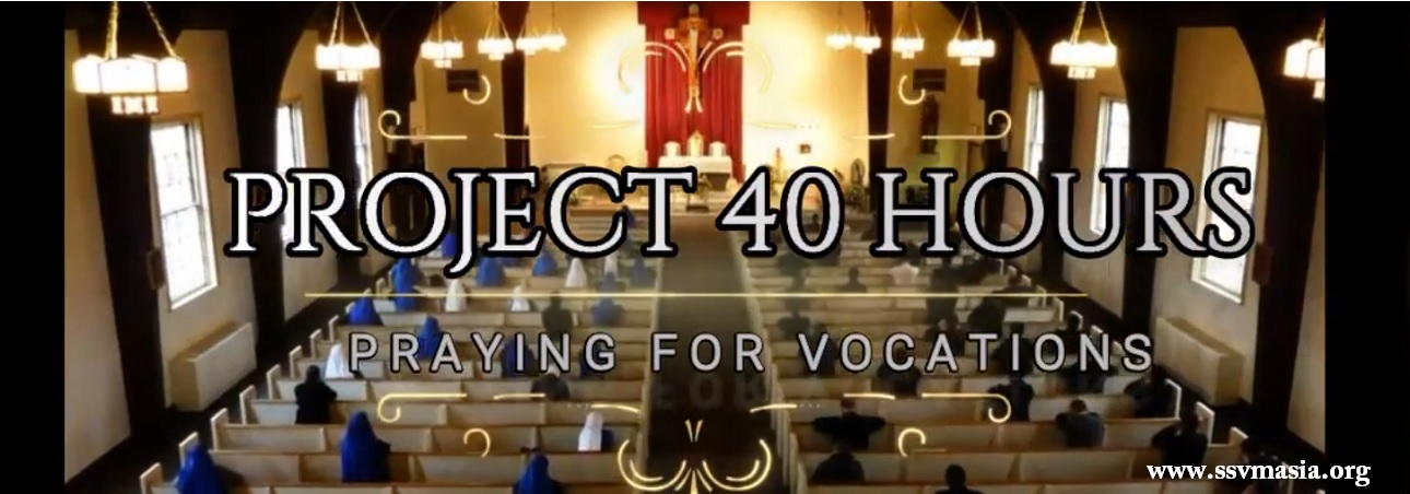 40 hours prayer for vocations