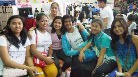 Youth participants from Lipa