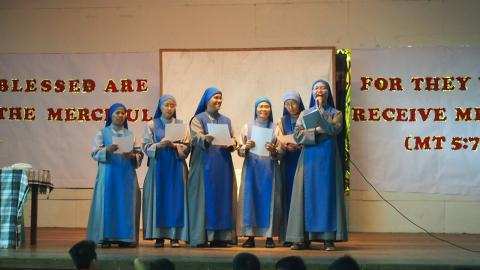 Sisters from the Juniorate performed at the Youth Day