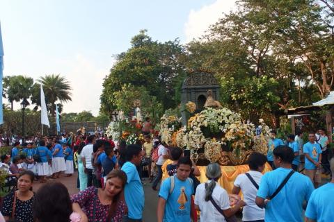 "Our Lady of Lujan is ""no. 27"" in the Procession"