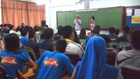 Conference on Family, given by Mr. and Mrs. Calimon