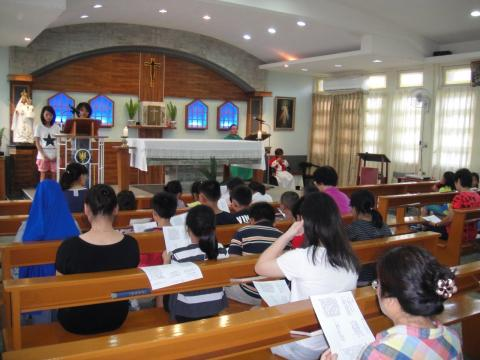 Children After School Class - Mass celebration
