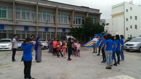 Children After School Class - Game time