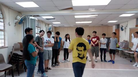 Summer Oratory in Hong Kong 2017 - workshop activity