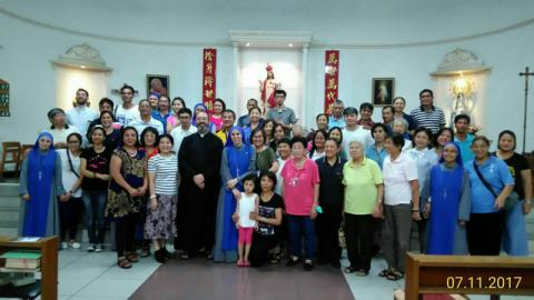 after the conference of persecuted Christians by Fr. Montes and Sr. Guadalupe in Dayuan,Taiwan