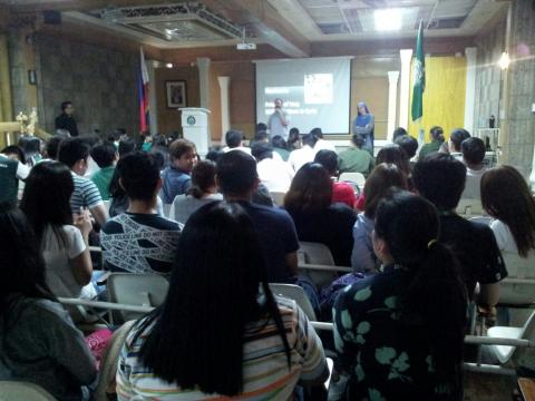 conference by Fr. Montes and Sr. Guadalupe in Philippines