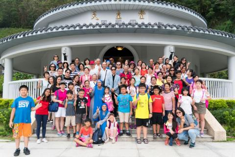 faithful from Zhongli parish had a lot of fun