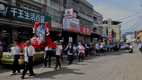 Rosary Procession , Feast of Chinese Martyrs in Puxin, Taiwan