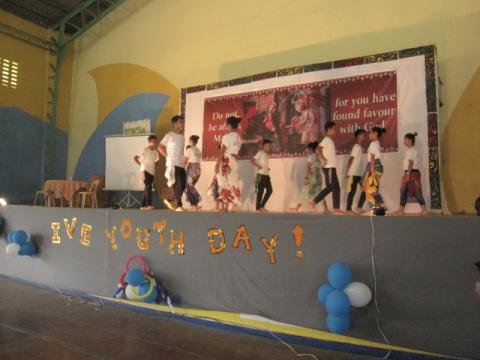The beautiful performance from the children of the mercy home