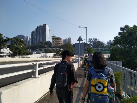 Walking towards Holy Spirit Seminary