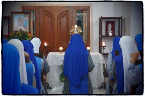 Office of Readings (Maitines) at the Provincial House (Vigil)
