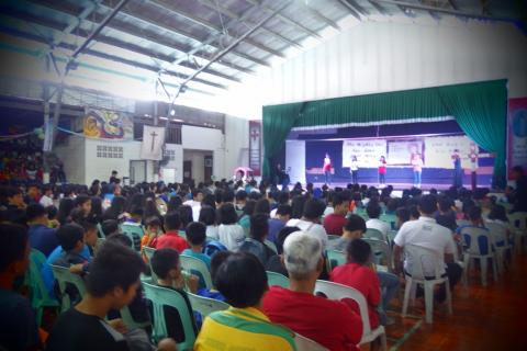 more than 600 youth participated in IVE Youth Day 2017