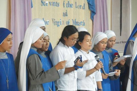 sisters from novitiate house offered songs